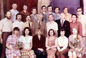 Ученые-философы Института философии и права АН БССР, конец 1970-х гг.