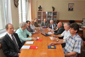 В ходе заседания Ученого совета (июнь 2013)